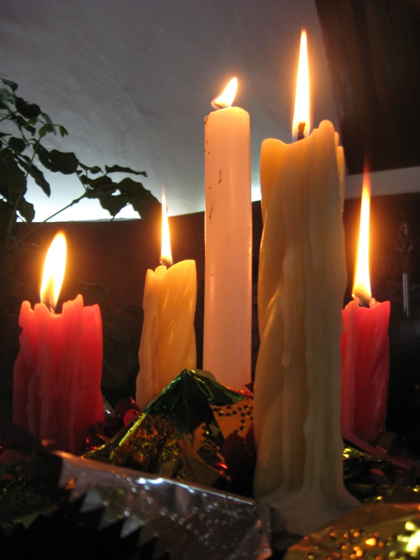 """Advent Candles"""