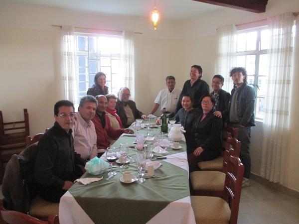 CEPALC staff with SUPVs Felix, Amparo