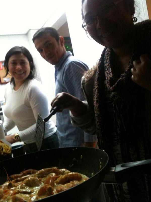 Cooking Asian with Ptr. Oscar and wife Angela